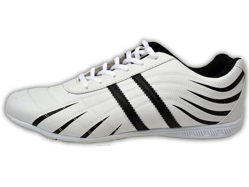 Details zu Herren Sneaker Neu Leder Optik Freizeit Schuhe Sportschuhe Turnschuhe @2652X