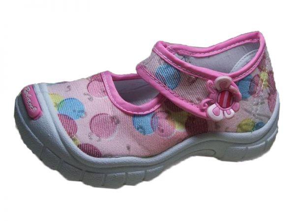 Ballerina Hausschuhe Textil-Leder Stoffschuhe Schuhe Spangenschuhe Gr.30 2372