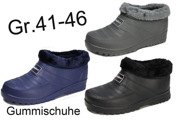 Herren Gummistiefel Gummischuhe Galosche Gartenschuhe Clogs NEU Gr.41-46 2731a