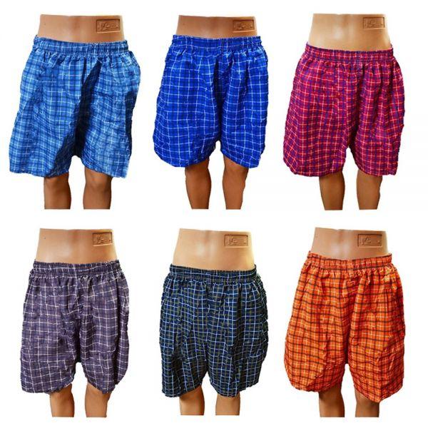 Herren Badeshorts Badehose Bermuda Hose Shorts Knielang Übergröße 4Xl-8XL K-30