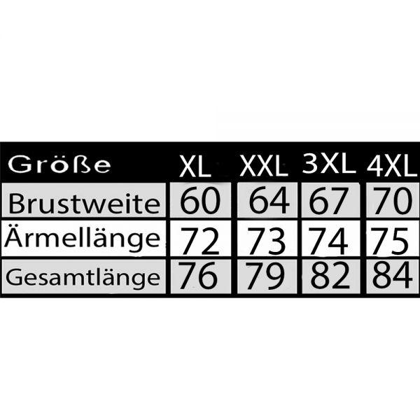 Herren 3 in 1 Funktionsjacke Fleecejacke Winterjacke Übergangsjacke XL-4XL 23399