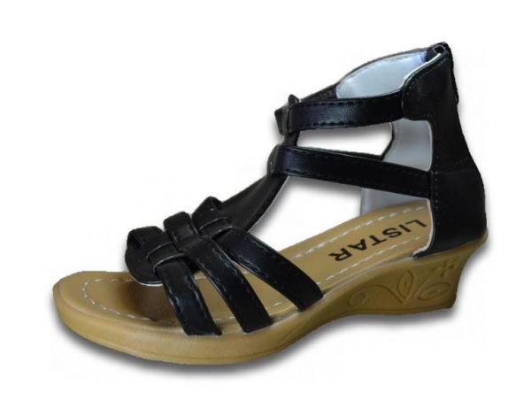 Mädchen Sandalen Sandalette Absatz 3 cm Riemchen Reißverschluss Gr.26-30 2445