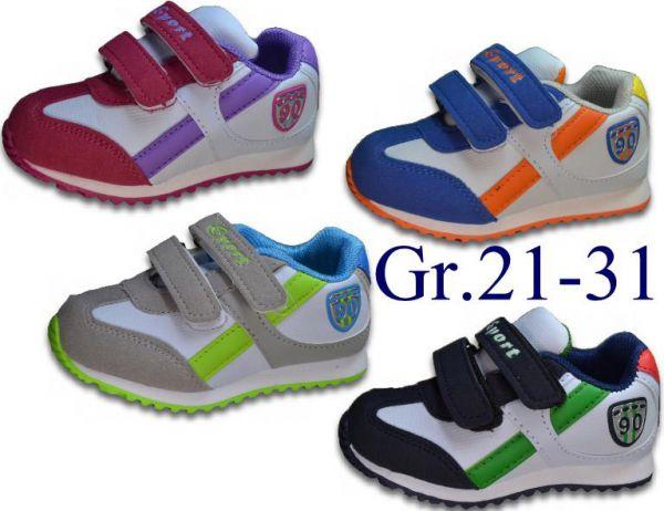 Jungen Mädchen Sneaker Halbschuhe Schuhe Turnschuhe Gr.21-31 2003X/2045