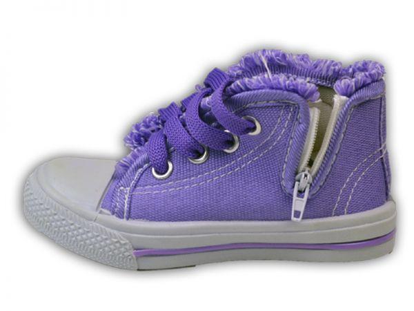 Hausschuhe Sneaker Knöchelschuhe Textil Stoff Canvas Schuhe Gr.21 und 24 2311