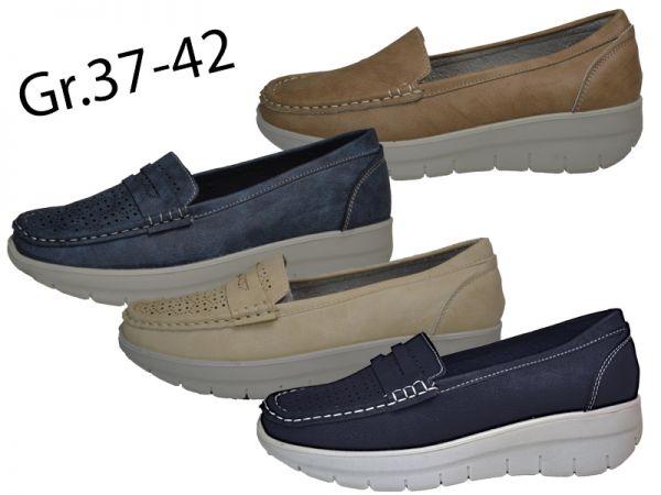 Slipper Gr.37-42 Fitnessschuhe Halbschuhe Slipper Schuhe Gesundheitsschuhe 2564
