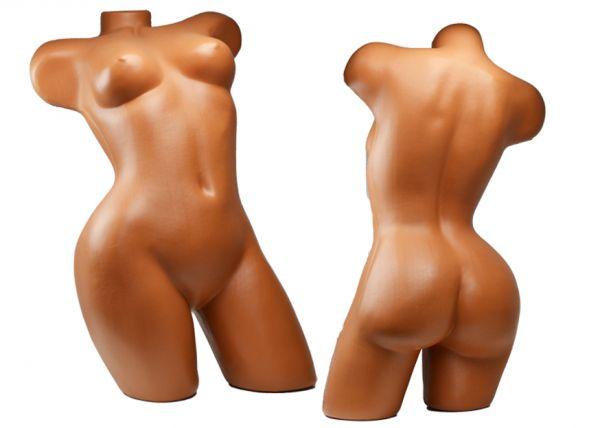Schaufensterpuppe Fotopuppe Schneiderpuppe Weiblich Torso Oberkörper Mannequin