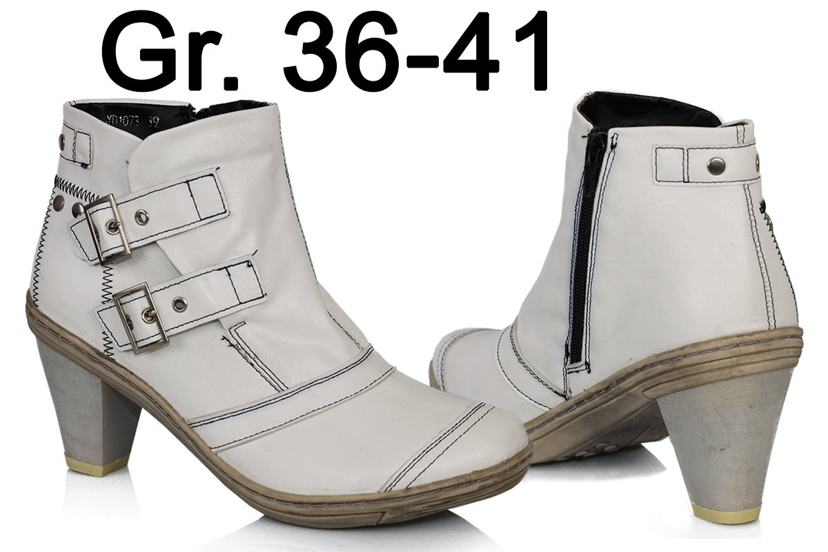 damen stiefeletten leder optik neu stiefel boots gef ttert. Black Bedroom Furniture Sets. Home Design Ideas