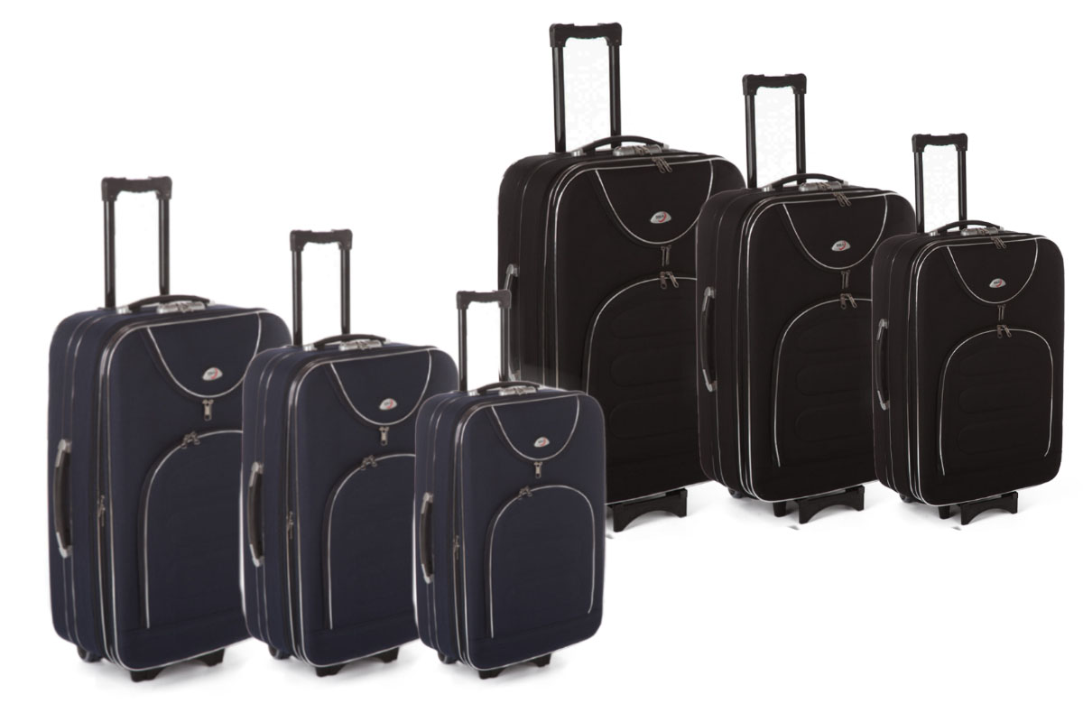softcase reisekoffer trolley reisetasche rollen trolly koffer kofferwaage waage ebay. Black Bedroom Furniture Sets. Home Design Ideas