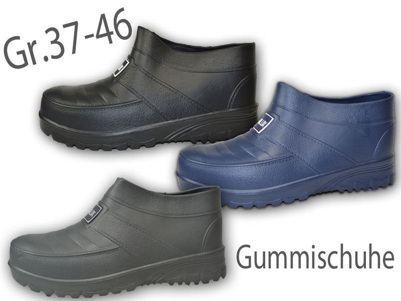 separation shoes b6e8c 2b409 Herren Damen Gummischuhe ungefüttert Galosche Gartenschuhe Gummistiefel  NEU@2733 | eBay