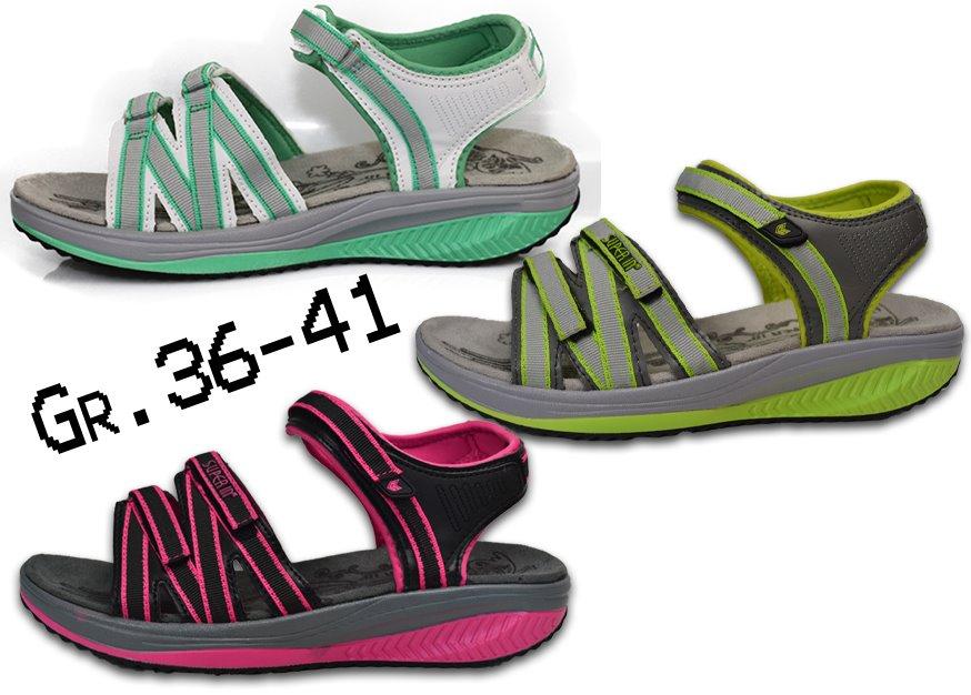 huge selection of 0f502 30187 Details zu Damen Sandalen NEU Gesundheitsschuhe Fitness Schuhe Sandaletten  @2581X