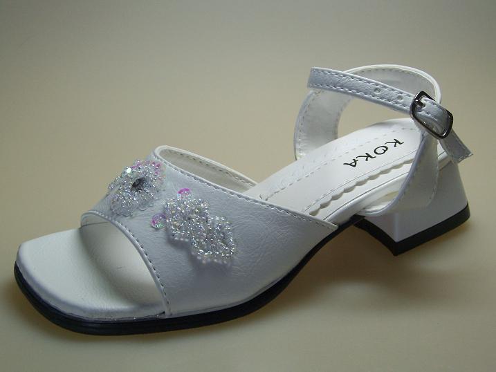 Kinder 25 Absatz 3cm Gr Neu Sandalen Schuhe Weiß414 jqSVGUzLMp